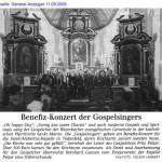 2005 Benefizkonzert der Gospelsingers