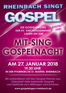 Mit-Sing Gospelnacht 2018