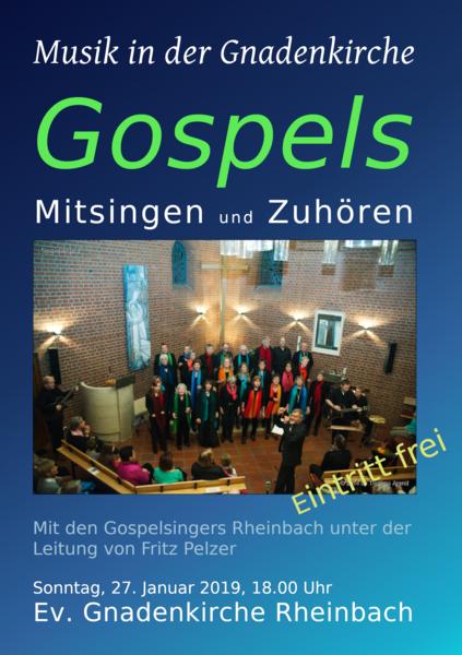 Musik in der Gnadenkirche - gospels